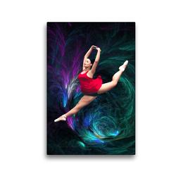 Premium Textil-Leinwand 30 x 45 cm Hoch-Format Kraft und Eleganz | Wandbild, HD-Bild auf Keilrahmen, Fertigbild auf hochwertigem Vlies, Leinwanddruck von Harald Fischer