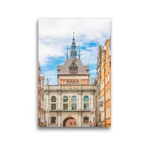 Premium Textil-Leinwand 30 x 45 cm Hoch-Format Langgasser Tor oder Goldenes Tor | Wandbild, HD-Bild auf Keilrahmen, Fertigbild auf hochwertigem Vlies, Leinwanddruck von pixs:sell