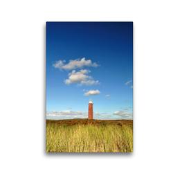 Premium Textil-Leinwand 30 x 45 cm Hoch-Format Leuchtturm | Wandbild, HD-Bild auf Keilrahmen, Fertigbild auf hochwertigem Vlies, Leinwanddruck von Susanne Herppich