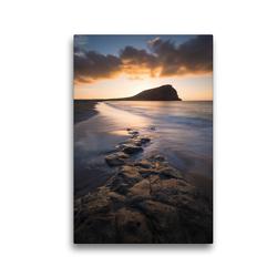 Premium Textil-Leinwand 30 x 45 cm Hoch-Format Montaña Roja   Wandbild, HD-Bild auf Keilrahmen, Fertigbild auf hochwertigem Vlies, Leinwanddruck von Raico Rosenberg