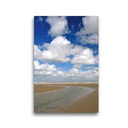 Premium Textil-Leinwand 30 x 45 cm Hoch-Format Priellandschaft | Wandbild, HD-Bild auf Keilrahmen, Fertigbild auf hochwertigem Vlies, Leinwanddruck von Susanne Herppich