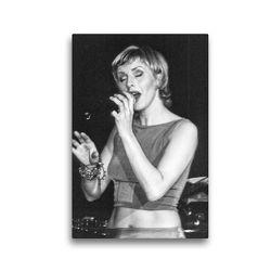 Premium Textil-Leinwand 30 x 45 cm Hoch-Format Silje Nergaard | Wandbild, HD-Bild auf Keilrahmen, Fertigbild auf hochwertigem Vlies, Leinwanddruck von Klaus Rohwer