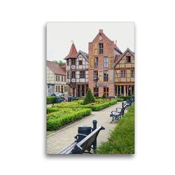 Premium Textil-Leinwand 30 x 45 cm Hoch-Format Tangermünde – Stadt an der Elbe | Wandbild, HD-Bild auf Keilrahmen, Fertigbild auf hochwertigem Vlies, Leinwanddruck von Anja Frost