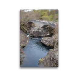 Premium Textil-Leinwand 30 x 45 cm Hoch-Format The Telford bridge | Wandbild, HD-Bild auf Keilrahmen, Fertigbild auf hochwertigem Vlies, Leinwanddruck von pixs:sell@Adobe Stock