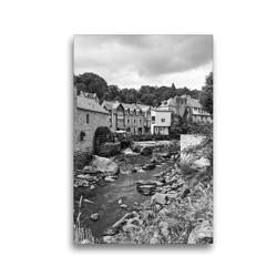Premium Textil-Leinwand 30 x 45 cm Hoch-Format Wassermühle in Pont-Aven | Wandbild, HD-Bild auf Keilrahmen, Fertigbild auf hochwertigem Vlies, Leinwanddruck von Andreas Pidde