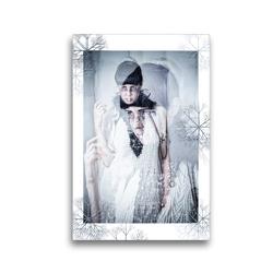 Premium Textil-Leinwand 30 x 45 cm Hoch-Format Wintergeheimnisse | Wandbild, HD-Bild auf Keilrahmen, Fertigbild auf hochwertigem Vlies, Leinwanddruck von Ravienne Art