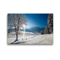 Premium Textil-Leinwand 45 x 30 cm Quer-Format Abtenau im Lammertal | Wandbild, HD-Bild auf Keilrahmen, Fertigbild auf hochwertigem Vlies, Leinwanddruck von Christa Kramer
