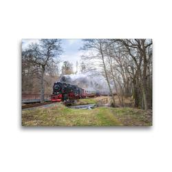 Premium Textil-Leinwand 45 x 30 cm Quer-Format an der Rinkenmühle | Wandbild, HD-Bild auf Keilrahmen, Fertigbild auf hochwertigem Vlies, Leinwanddruck von Steffen Gierok