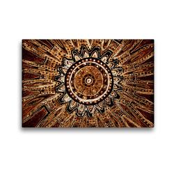 Premium Textil-Leinwand 45 x 30 cm Quer-Format Ausbruch | Wandbild, HD-Bild auf Keilrahmen, Fertigbild auf hochwertigem Vlies, Leinwanddruck von EigenArt
