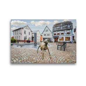 Premium Textil-Leinwand 45 x 30 cm Quer-Format Bad Camberg Impressionen | Wandbild, HD-Bild auf Keilrahmen, Fertigbild auf hochwertigem Vlies, Leinwanddruck von Dirk Meutzner
