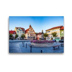 Premium Textil-Leinwand 45 x 30 cm Quer-Format Bad Rodach – die Thermalbadstadt im Herzen Deutschlands | Wandbild, HD-Bild auf Keilrahmen, Fertigbild auf hochwertigem Vlies, Leinwanddruck von Val Thoermer