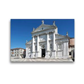 Premium Textil-Leinwand 45 x 30 cm Quer-Format Basilika San Giorgio Maggiore in Venedig, Italien | Wandbild, HD-Bild auf Keilrahmen, Fertigbild auf hochwertigem Vlies, Leinwanddruck von Marion Meyer © Stimmungsbilder1