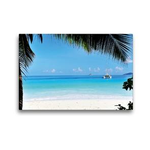 Premium Textil-Leinwand 45 x 30 cm Quer-Format Blick auf den blauen Ozean | Wandbild, HD-Bild auf Keilrahmen, Fertigbild auf hochwertigem Vlies, Leinwanddruck von Jürgen Feuerer