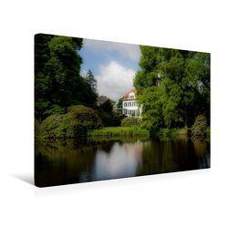 Premium Textil-Leinwand 45 x 30 cm Quer-Format Blick auf die Gartenstraße | Wandbild, HD-Bild auf Keilrahmen, Fertigbild auf hochwertigem Vlies, Leinwanddruck von Erwin Renken