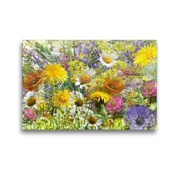 Premium Textil-Leinwand 45 x 30 cm Quer-Format Blütenfest | Wandbild, HD-Bild auf Keilrahmen, Fertigbild auf hochwertigem Vlies, Leinwanddruck von Christine B-B Müller