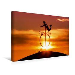 Premium Textil-Leinwand 45 x 30 cm Quer-Format Borkum | Wandbild, HD-Bild auf Keilrahmen, Fertigbild auf hochwertigem Vlies, Leinwanddruck von Roland Störmer von Störmer,  Roland