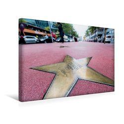 Premium Textil-Leinwand 45 x 30 cm Quer-Format Boulevard der Stars | Wandbild, HD-Bild auf Keilrahmen, Fertigbild auf hochwertigem Vlies, Leinwanddruck von Ingo Gerlach von Gerlach,  Ingo
