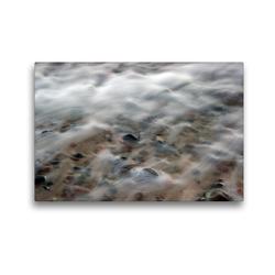 Premium Textil-Leinwand 45 x 30 cm Quer-Format Brandung | Wandbild, HD-Bild auf Keilrahmen, Fertigbild auf hochwertigem Vlies, Leinwanddruck von Katja Jentschura