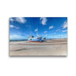 Premium Textil-Leinwand 45 x 30 cm Quer-Format Dänemarks Norden II   Wandbild, HD-Bild auf Keilrahmen, Fertigbild auf hochwertigem Vlies, Leinwanddruck von Oliver Schwenn