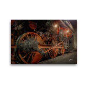 Premium Textil-Leinwand 45 x 30 cm Quer-Format Dampfgestänge | Wandbild, HD-Bild auf Keilrahmen, Fertigbild auf hochwertigem Vlies, Leinwanddruck von Danny Elskamp-D.Elskamp Photography