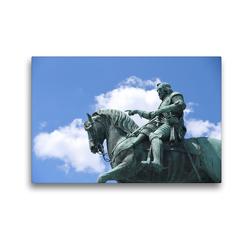 Premium Textil-Leinwand 45 x 30 cm Quer-Format Denkmal Maximilian Kurfürst von Bayern | Wandbild, HD-Bild auf Keilrahmen, Fertigbild auf hochwertigem Vlies, Leinwanddruck von Pia Thauwald