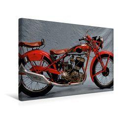 Premium Textil-Leinwand 45 x 30 cm Quer-Format Deutsche Motorrad Oldtimer | Wandbild, HD-Bild auf Keilrahmen, Fertigbild auf hochwertigem Vlies, Leinwanddruck von Ingo Laue von Laue,  Ingo