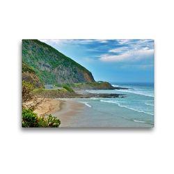 Premium Textil-Leinwand 45 x 30 cm Quer-Format Die Great Ocean Road | Wandbild, HD-Bild auf Keilrahmen, Fertigbild auf hochwertigem Vlies, Leinwanddruck von Ralf Wittstock