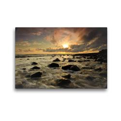 Premium Textil-Leinwand 45 x 30 cm Quer-Format Die Kraft des Meeres | Wandbild, HD-Bild auf Keilrahmen, Fertigbild auf hochwertigem Vlies, Leinwanddruck von Luxscriptura by Wolfgang Schömig