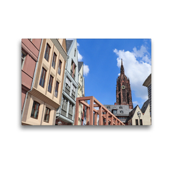 Premium Textil-Leinwand 45 x 30 cm Quer-Format Dom | Wandbild, HD-Bild auf Keilrahmen, Fertigbild auf hochwertigem Vlies, Leinwanddruck von Petrus Bodenstaff