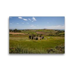 Premium Textil-Leinwand 45 x 30 cm Quer-Format Drombeg Stone Circle | Wandbild, HD-Bild auf Keilrahmen, Fertigbild auf hochwertigem Vlies, Leinwanddruck von Andre Poling