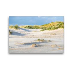 Premium Textil-Leinwand 45 x 30 cm Quer-Format Dünenlandschaft | Wandbild, HD-Bild auf Keilrahmen, Fertigbild auf hochwertigem Vlies, Leinwanddruck von Annett Mirsberger