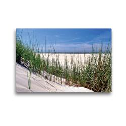 Premium Textil-Leinwand 45 x 30 cm Quer-Format Dünenlandschaft | Wandbild, HD-Bild auf Keilrahmen, Fertigbild auf hochwertigem Vlies, Leinwanddruck von Susanne Herppich