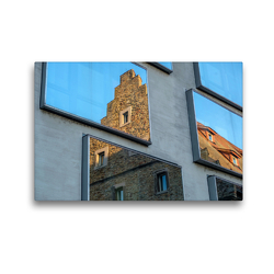 Premium Textil-Leinwand 45 x 30 cm Quer-Format Ebracher Hof | Wandbild, HD-Bild auf Keilrahmen, Fertigbild auf hochwertigem Vlies, Leinwanddruck von Olaf Herm