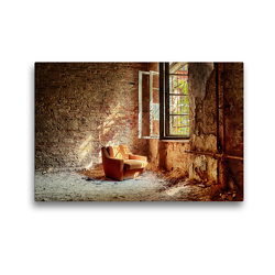 Premium Textil-Leinwand 45 x 30 cm Quer-Format Ein Motiv aus dem Lost Places Kalender – Daylight | Wandbild, HD-Bild auf Keilrahmen, Fertigbild auf hochwertigem Vlies, Leinwanddruck von N N