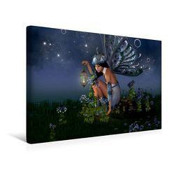 Premium Textil-Leinwand 45 x 30 cm Quer-Format Elfenlichter | Wandbild, HD-Bild auf Keilrahmen, Fertigbild auf hochwertigem Vlies, Leinwanddruck von Andrea Tiettje