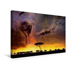 Premium Textil-Leinwand 45 x 30 cm Quer-Format Emotionale Momente: African Dreams | Wandbild, HD-Bild auf Keilrahmen, Fertigbild auf hochwertigem Vlies, Leinwanddruck von Ingo Gerlach GDT von Gerlach GDT,  Ingo