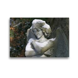Premium Textil-Leinwand 45 x 30 cm Quer-Format Engel der Sicherheit | Wandbild, HD-Bild auf Keilrahmen, Fertigbild auf hochwertigem Vlies, Leinwanddruck von Monika Kober