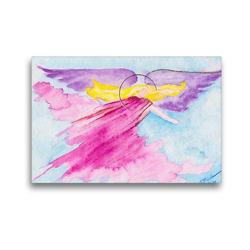 Premium Textil-Leinwand 45 x 30 cm Quer-Format Engel für Inspiration   Wandbild, HD-Bild auf Keilrahmen, Fertigbild auf hochwertigem Vlies, Leinwanddruck von Gabriele-Diana Bode