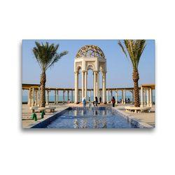 Premium Textil-Leinwand 45 x 30 cm Quer-Format Erholung an der Corniche | Wandbild, HD-Bild auf Keilrahmen, Fertigbild auf hochwertigem Vlies, Leinwanddruck von Juergen Woehlke