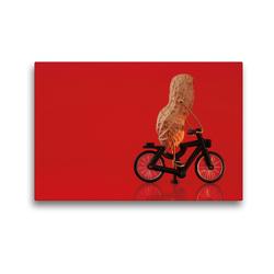 Premium Textil-Leinwand 45 x 30 cm Quer-Format Essen auf Rädern | Wandbild, HD-Bild auf Keilrahmen, Fertigbild auf hochwertigem Vlies, Leinwanddruck von Michaela Kanthak