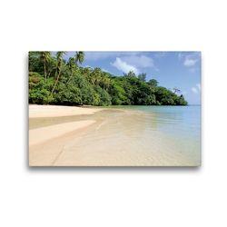 Premium Textil-Leinwand 45 x 30 cm Quer-Format Französisch-Polynesien – Huahine | Wandbild, HD-Bild auf Keilrahmen, Fertigbild auf hochwertigem Vlies, Leinwanddruck von N N