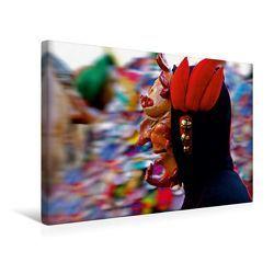 Premium Textil-Leinwand 45 x 30 cm Quer-Format Freiburger Feuernarre | Wandbild, HD-Bild auf Keilrahmen, Fertigbild auf hochwertigem Vlies, Leinwanddruck von Ingo Laue von Laue,  Ingo