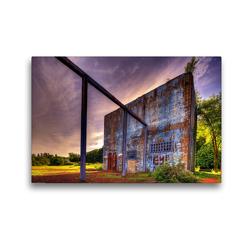 Premium Textil-Leinwand 45 x 30 cm Quer-Format Gartenhaus | Wandbild, HD-Bild auf Keilrahmen, Fertigbild auf hochwertigem Vlies, Leinwanddruck von Heribert Adams foto-you.de