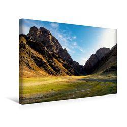Premium Textil-Leinwand 45 x 30 cm Quer-Format Geierschlucht   Wandbild, HD-Bild auf Keilrahmen, Fertigbild auf hochwertigem Vlies, Leinwanddruck von Roland Störmer von Störmer,  Roland