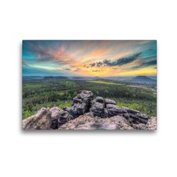 Premium Textil-Leinwand 45 x 30 cm Quer-Format Gohrisch | Wandbild, HD-Bild auf Keilrahmen, Fertigbild auf hochwertigem Vlies, Leinwanddruck von Michael Valjak