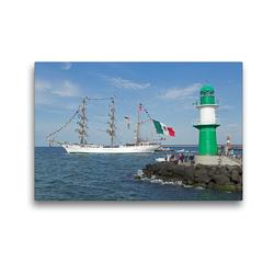 Premium Textil-Leinwand 45 x 30 cm Quer-Format Hanse-Sail | Wandbild, HD-Bild auf Keilrahmen, Fertigbild auf hochwertigem Vlies, Leinwanddruck von N N