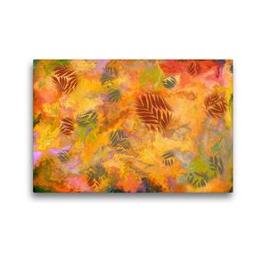 Premium Textil-Leinwand 45 x 30 cm Quer-Format Herbstgefühle   Wandbild, HD-Bild auf Keilrahmen, Fertigbild auf hochwertigem Vlies, Leinwanddruck von Danijela Hospes