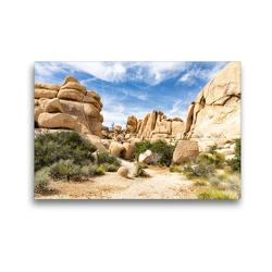 Premium Textil-Leinwand 45 x 30 cm Quer-Format Hidden Valley | Wandbild, HD-Bild auf Keilrahmen, Fertigbild auf hochwertigem Vlies, Leinwanddruck von Andreas Klesse