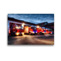Premium Textil-Leinwand 45 x 30 cm Quer-Format Im Notfall sind wir da!   Wandbild, HD-Bild auf Keilrahmen, Fertigbild auf hochwertigem Vlies, Leinwanddruck von Markus Will