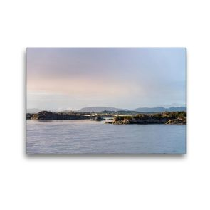 Premium Textil-Leinwand 45 x 30 cm Quer-Format In den Schären | Wandbild, HD-Bild auf Keilrahmen, Fertigbild auf hochwertigem Vlies, Leinwanddruck von Christiane Calmbacher